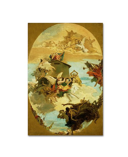 """Trademark Global Tiepolo 'The Miracle Of The Holy House Of Loreto' Canvas Art - 47"""" x 30"""" x 2"""""""