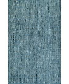 "D Style Cozy Weave Cwv100 Denim 5' x 7'6"" Area Rug"
