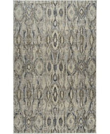 """D Style Tempo Tem2 Silver 5'3"""" x 7'7"""" Area Rug"""