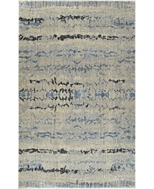 D Style Tempo Tem4 Silver Area Rug Collection