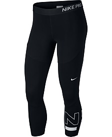 Nike Pro Colorblocked Cropped Leggings