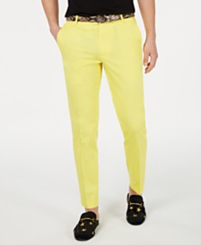 I.N.C. Men's Pop-Color Slim Pants, Created for Macy's