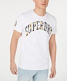 Men's Camouflage Embossed Logo T-Shirt
