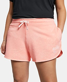 Nike Plus Size Sportswear Cotton Shorts