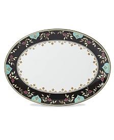 Lenox Global Tapestry Garnet Oval Platter