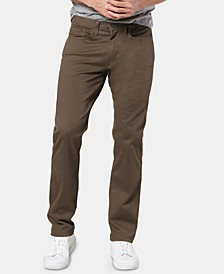 Men's Jean Cut Straight-Fit All Seasons Tech Khaki Pants