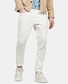 Men's Slim-Fit D-Staq Denim Chinos