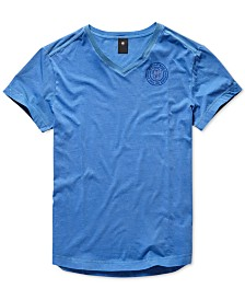 G-Star RAW Men's V-Neck T-Shirt, Created for Macy's