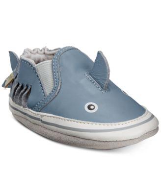 Robeez Baby Boys Sebastian Shark Soft