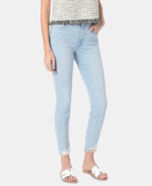Joe's Jeans Jeans JUDY RIPPED-HEM SKINNY JEANS
