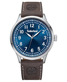 Men's Alford Dark Brown/Silver/Blue Watch