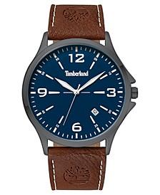 Men's Provincetown Brown/Gunmetal/Blue Watch