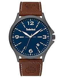 Timberland Men's Provincetown Brown/Gunmetal/Blue Watch