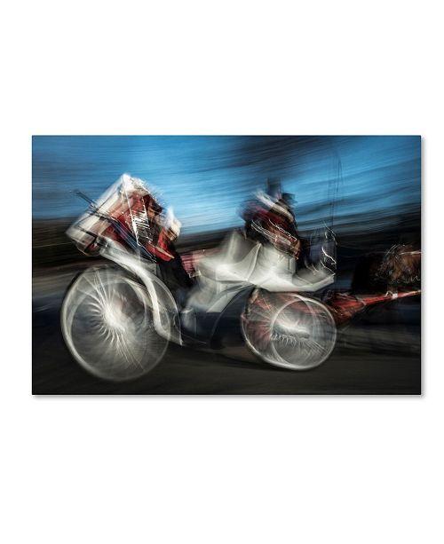 """Trademark Global Moises Levy 'Horse 5' Canvas Art - 24"""" x 16"""" x 2"""""""