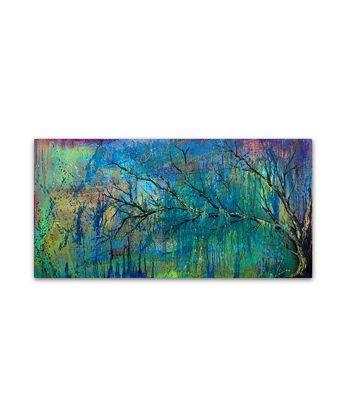 "Trademark Global Michelle Faber 'Prelude To Spring Tree' Canvas Art - 10"" x 19"" x 2"""