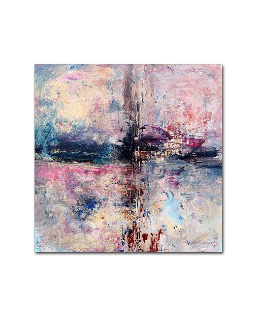 "Trademark Global Natasha Wescoat 'Iron Soul' Canvas Art - 35"" x 35"" x 2"""