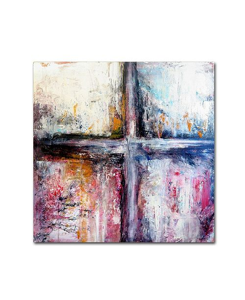 "Trademark Global Natasha Wescoat 'Symbiotic' Canvas Art - 14"" x 14"" x 2"""