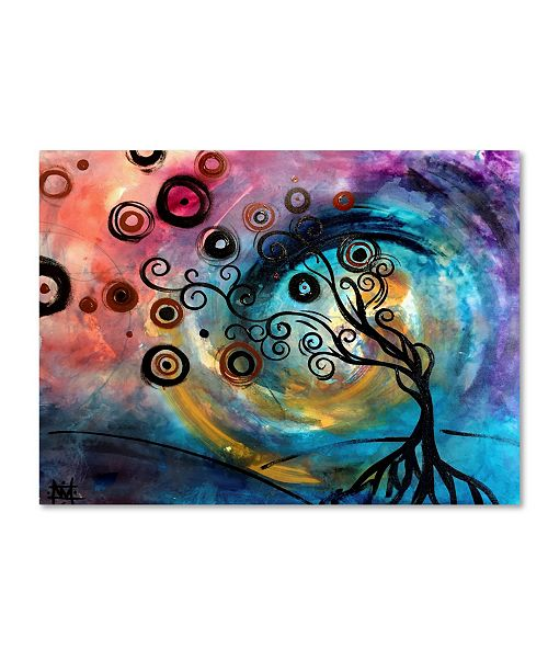 "Trademark Global Natasha Wescoat 'Vex' Canvas Art - 47"" x 35"" x 2"""
