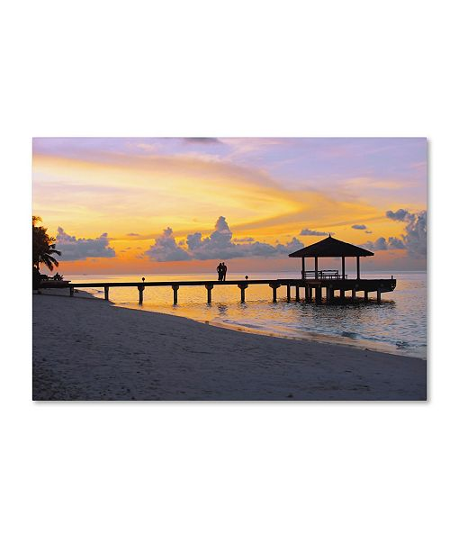 "Trademark Global Robert Harding Picture Library 'Beachy 18' Canvas Art - 24"" x 16"" x 2"""