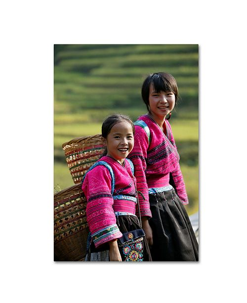 "Trademark Global Robert Harding Picture Library 'Children 17' Canvas Art - 24"" x 16"" x 2"""