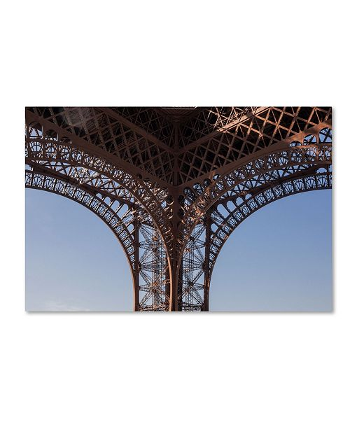 "Trademark Global Robert Harding Picture Library 'Eiffel Tower 3' Canvas Art - 47"" x 30"" x 2"""