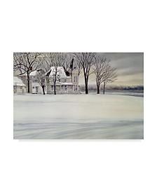 "John Morrow 'Iron House' Canvas Art - 19"" x 12"" x 2"""