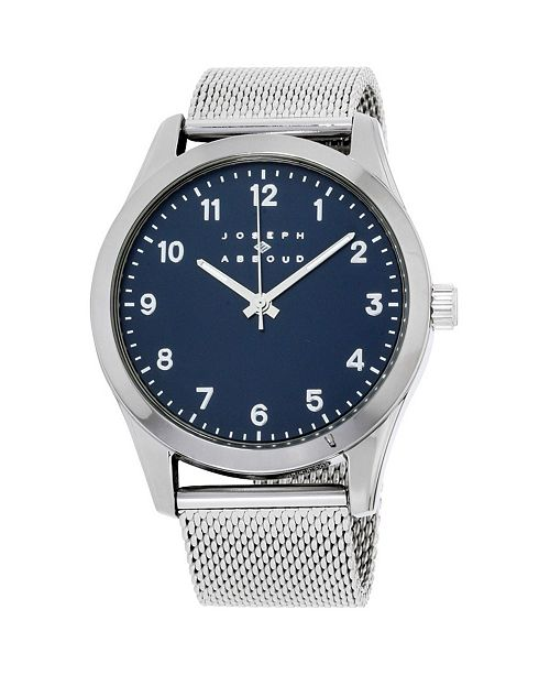 Joseph Abboud Men's Analog Stainless Steel Watch
