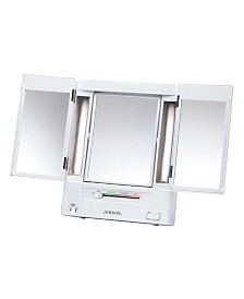 The Jerdon JGL9W Lighted Makeup Mirror