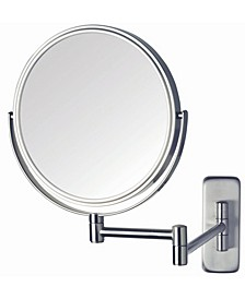"The JP7506N 8"" Two-Sided Wall Mount Mirror"