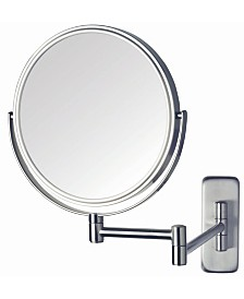 """The Jerdon JP7506N 8"""" Two-Sided Wall Mount Mirror"""