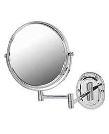 """The JP7507CB 8"""" Two-Sided Wall Mount Mirror"""
