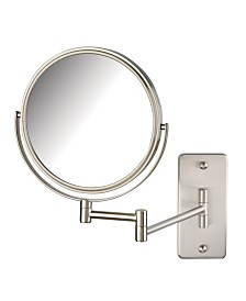 "The Jerdon JP7506NMT 8"" Two-Sided Wall Mount Mirror"