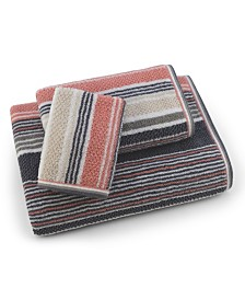 Trimont Stripe 3 Piece Bath Towel Set