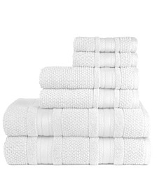 Grace 6 Piece Bath Towel Set