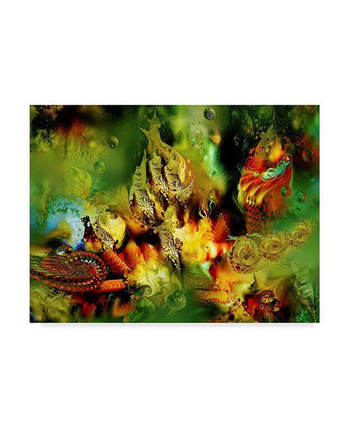 "Trademark Global RUNA 'Botanical Garden' Canvas Art - 47"" x 35"" x 2"""