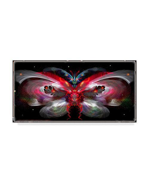"""Trademark Global RUNA 'Bug 1' Canvas Art - 24"""" x 12"""" x 2"""""""