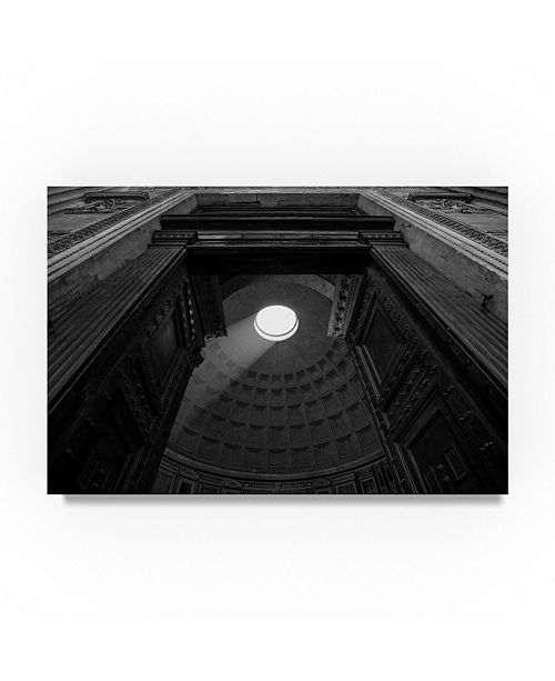 "Trademark Global Moises Levy 'Pantheon' Canvas Art - 47"" x 30"" x 2"""