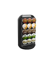 Mind Reader 30 Capacity K-Cup Single Serve Coffee Pod Holder Carousel
