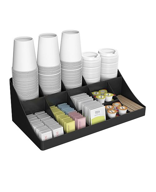 Mind Reader 11 Compartment Coffee Condiment Organizer