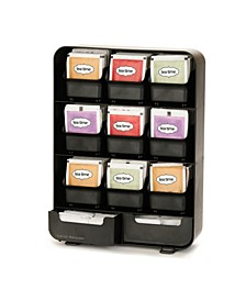 9 Removable Drawers Tea Bag holder and Condiment Organizer