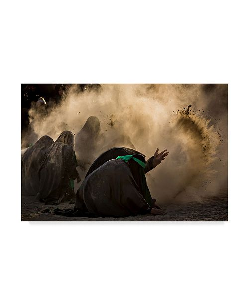 "Trademark Global Mohammadreza Momeni 'Ashura' Canvas Art - 32"" x 2"" x 22"""
