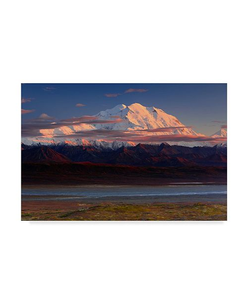 "Trademark Global Roberto Marchegiani 'Denali National Park' Canvas Art - 19"" x 2"" x 12"""