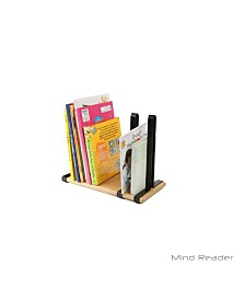 Mind Reader Skim 4 Pocket Metal Mesh Newspaper and Magazine Rack