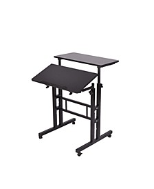 2 Tier Sit and Stand Desk