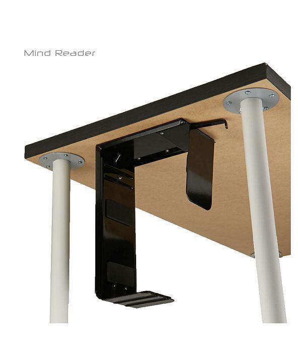 Mind Reader Under Desk Computer Tower Adjustable Holder