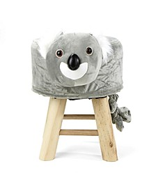 Children's Favorite Koala Animal Stool, Chair, Ottoman, Foot Rest