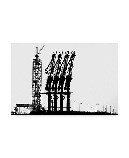 "Trademark Global Jan Niezen 'Rotterdam Harbor' Canvas Art - 32"" x 2"" x 22"""