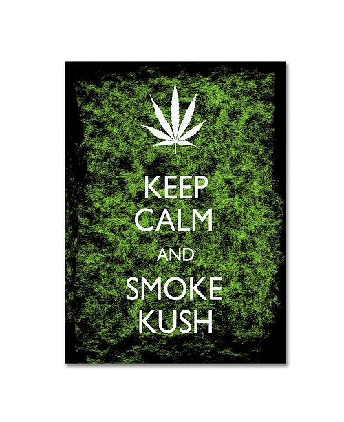 "Trademark Global Potman 'Keep Calm' Canvas Art - 47"" x 35"" x 2"""