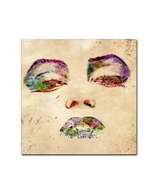 """Mark Ashkenazi 'Marilyn Monroe' Canvas Art - 14"""" x 14"""" x 2"""""""
