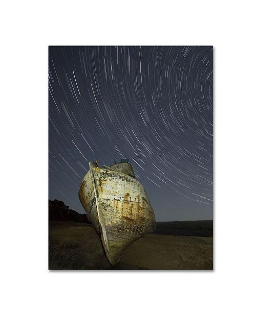 "Trademark Global Moises Levy 'Point Reyes II' Canvas Art - 19"" x 14"" x 2"""
